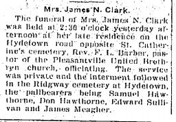 Mrs. James N Clark