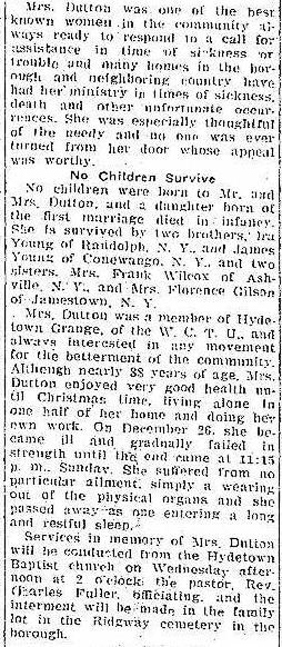 The Titusville Herald, January 28, 1927.